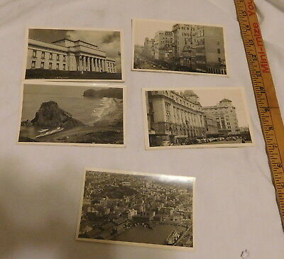 vintage Auckland New Zealand Real Photo Postcard Lot of 5