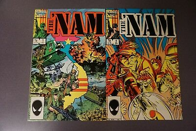 The 'NAM 1-60 Complete! - Doug Murray, Wayne VanSant, Adam Kubert Art NM/NM+