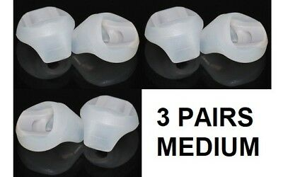Replacement Medium Size Silicone Earbud Tips For Bose in ear earphones in ear