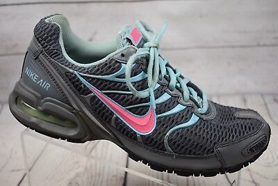 Nike Air Max Torch 4 Pink Gray Blue Running Shoes Athletic Sneaker Womens Size 9