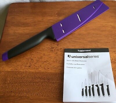 Tupperware Universal Series Chef Knife 19.7 cm NEW