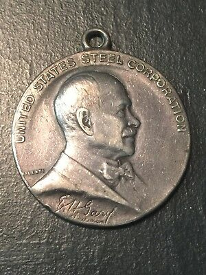 US Steel Company Service Award Medal- Sterling Silver