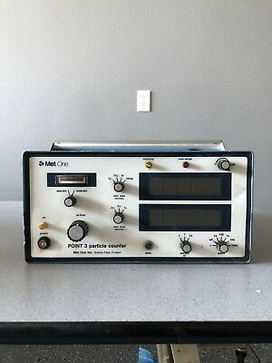 Met One Point 3 Particle Counter P3D-2-1-RH-T