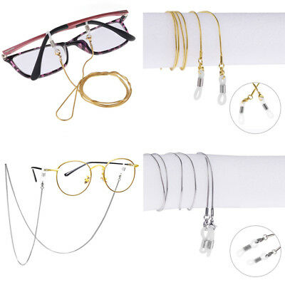 Eyeglass Reading Spectacles Sunglasses Glasses Cord Holder Necklace Chain Rubber