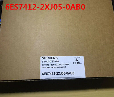 Siemens 6Es7412-2Xj05-0Ab0 6Es7 412-2Xj05-0Ab0 New In Box