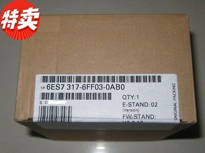 Siemens 6Es7317-6Ff03-0Ab0 6Es7 317-6Ff03-0Ab0  New In Box