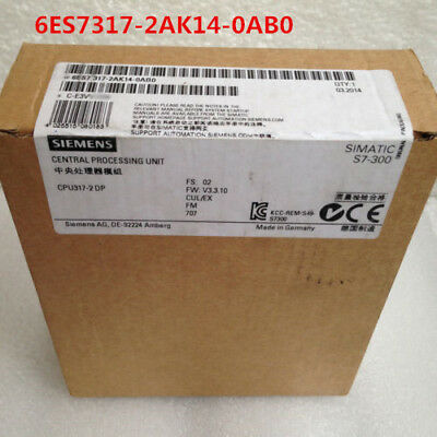 Siemens 6Es7317-2Ak14-0Ab0 6Es7 317-2Ak14-0Ab0 New In Box