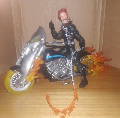 Marvel Legends Ultimate Riders Ghost Rider Cycle Rhino Wave Ghost Rider