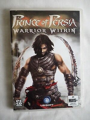 Prince Of Persia Warrior Within PC CD Rom Game 2004