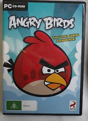 Angry Birds PC Game CD-Rom