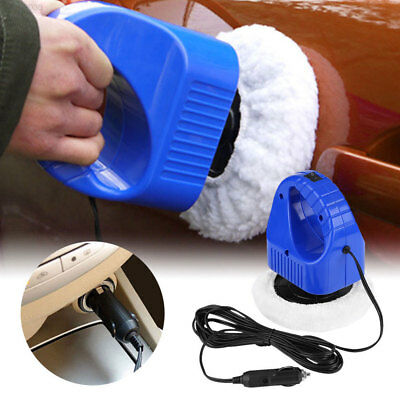 Durable Buffing DC12V Car Waxing Machine 40W 1600RPM Remove Scratch Clean
