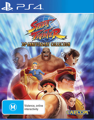 Street Fighter 30th Anniversary Collection PS4 Playstation 4 Brand New In Stock
