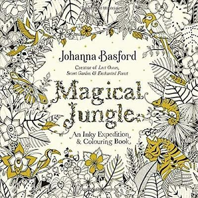 Magical Jungle An Inky Expedition Colouring Book Books Johanna Ba