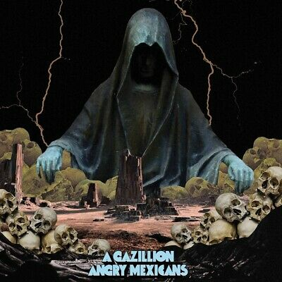 A Gazillion Angry Mexicans Stoner Pop Doom Punk CD 2018 Australian Hard New