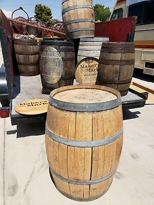 Wooden Antique Whiskey Barrels