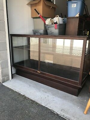 Antique Bakers Case/ Quincy show Case Works - Display Cabinet