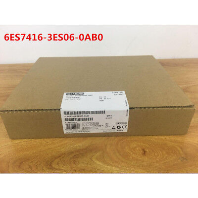 Siemens 6Es7416-3Es06-0Ab0 6Es7 416-3Es06-0Ab0 New In Box