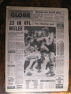 Sporting Globe MAY 12 1973 23 In VFL Melee