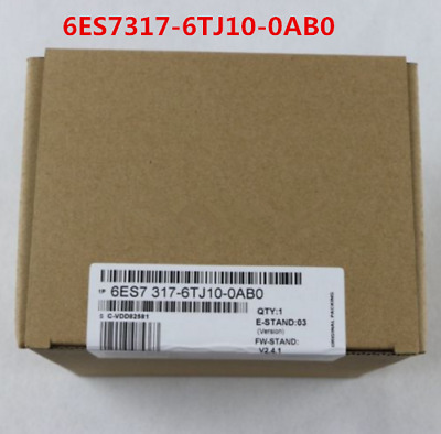 Siemens 6Es7317-6Tj10-0Ab0 6Es7 317-6Tj10-0Ab0 New In Box