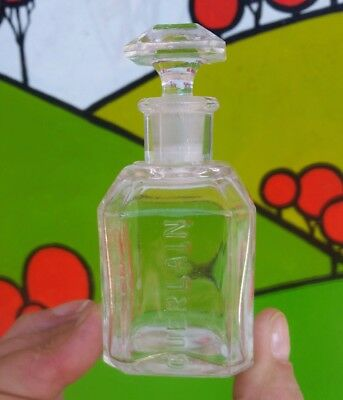 Antique Guerlain Paris Perfume Bottle Depose Mark