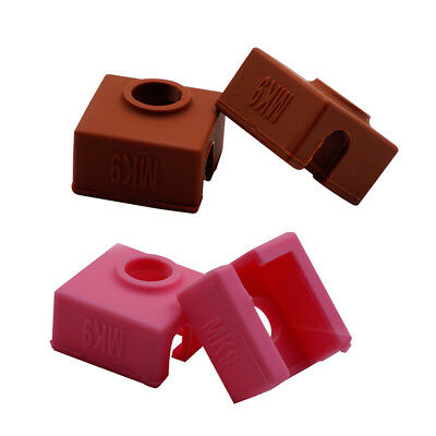 MK7/MK8/MK9 Silicone Sock for Creality CR-10,10S,S4,S5 Anet A8 Heater Block