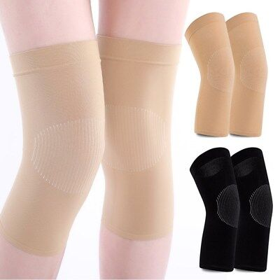 Elasticity kneecap Hiking Knee Compression Joint Pain Relief Leg NEW Warmers 1PC