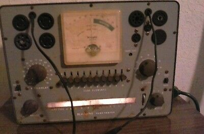 Vintage Knight Tube Tester by Allied Radio Made in U.S.A. - Powers On