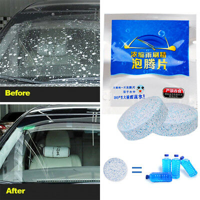 Auto Car Windshield Glass Wash Cleaning Concentrated Effervescent Tablet 3-20PCS