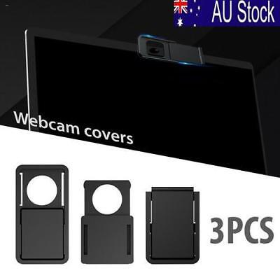 3Pcs Webcam Slider Camera Cover Protect Privacy for Laptop iPad PC Mac Tablet AU
