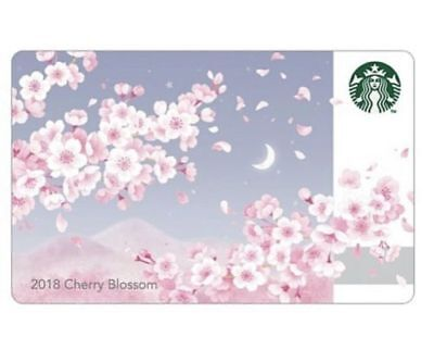 Starbucks Korea 2018 Cherry Blossom Card