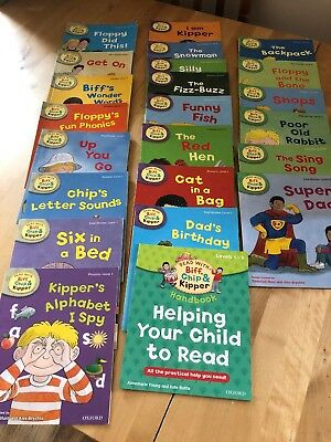 Read With biff,chip And Kipper Book Bundle Level 1-3 Oxford Reading 23 In Total