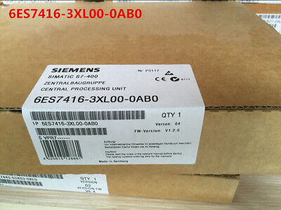 Siemens 6Es7416-3Xl00-0Ab0 6Es7 416-3Xl00-0Ab0 New In Box