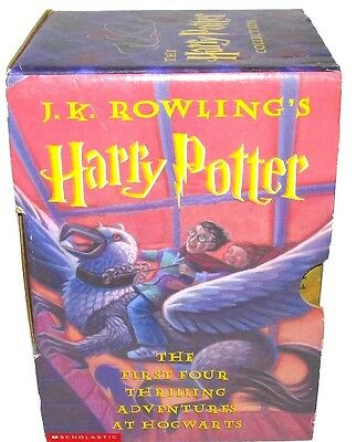 Harry Potter Collection: His First Four Years at Hog + Half Blood Prince