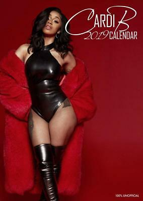 Cardi B Calendar 2019 Large Uk Wall A3 Poster Size New And Sealed
