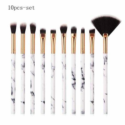 10x Professional Makeup Brushes Set Powder Foundation Eyeshadow makeup bursh  KI