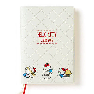Hello Kitty 2019 Schedule Book Diary A6 Weekly Block Sanrio Japan