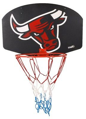 Basketballkorb Kinder Basketball Korb Basketballring Netz Set Miniboard BULL