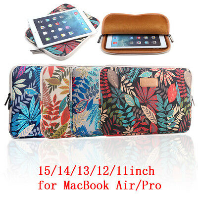 Laptop Case Bag Soft Cover Sleeve Pouch For 11''12''13'' Macbook Pro Notebook ws