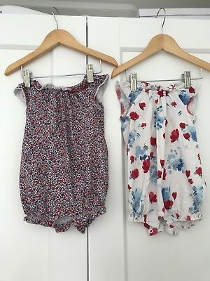 Clothes, Shoes & Accessories Next Girls Summer Romper Size Up To 3 Months Girls' Clothing (0-24 Months)