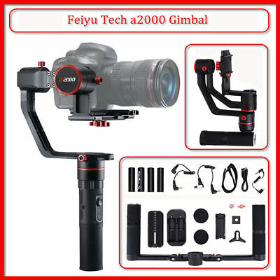 Feiyu a2000 3-Axis Gimbal Handheld Stabilizer for Mirrorless DSLR Action Cameras