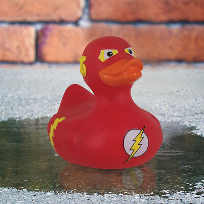 DC Comics The Flash Bath Duck Novelty Retro Justice League Tub Prop