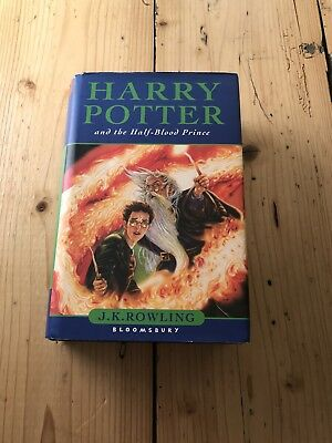 Harry Potter And The Half Blood Prince - Bloomsbury - First Edition - 2005 -