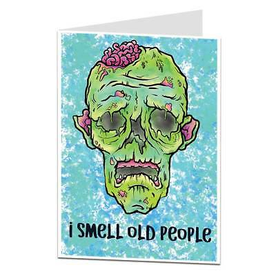 Choice Of Fantastic Really Funny Old People Birthday Greeting Cards