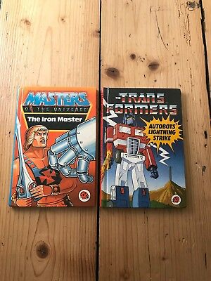 Vintage Ladybird Books - Masters Of The Universe - Transformers