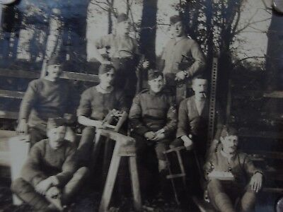WW1 RFC Royal Flying Corps Group photo of Carpenters