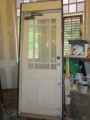 French Door complete with Doorframe and Step, Pick up Melbourne