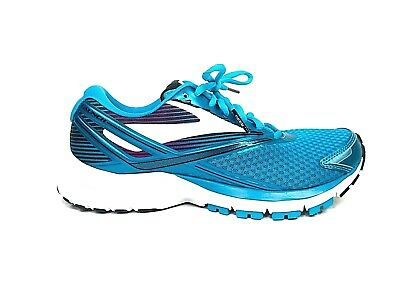 New Brooks Launch 4 Womens Size 7.5 Teal White Running Shoes Medium B Width