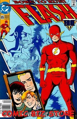 Flash #65 (1992) 1St Printing Bagged & Boarded Dc Comics