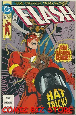 Flash #67 (1992) 1St Printing Bagged & Boarded Dc Comics