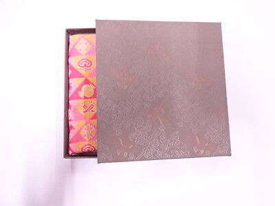 11731# Japanese Tea Ceremony / New! Fancy Box For Dashifukusa (Silk Cloth) / Kin